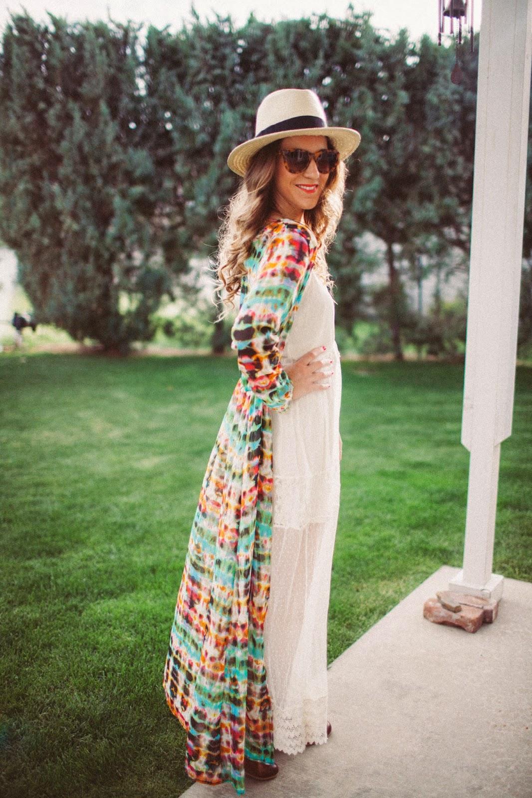 Tie Dyed - Twenties Girl Style