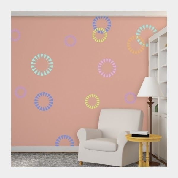 custom wall painting stencils