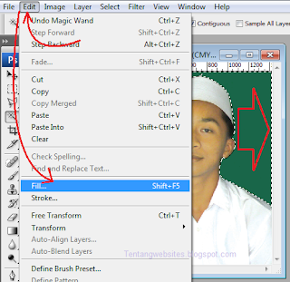 fungsi fill aplikasi photoshop