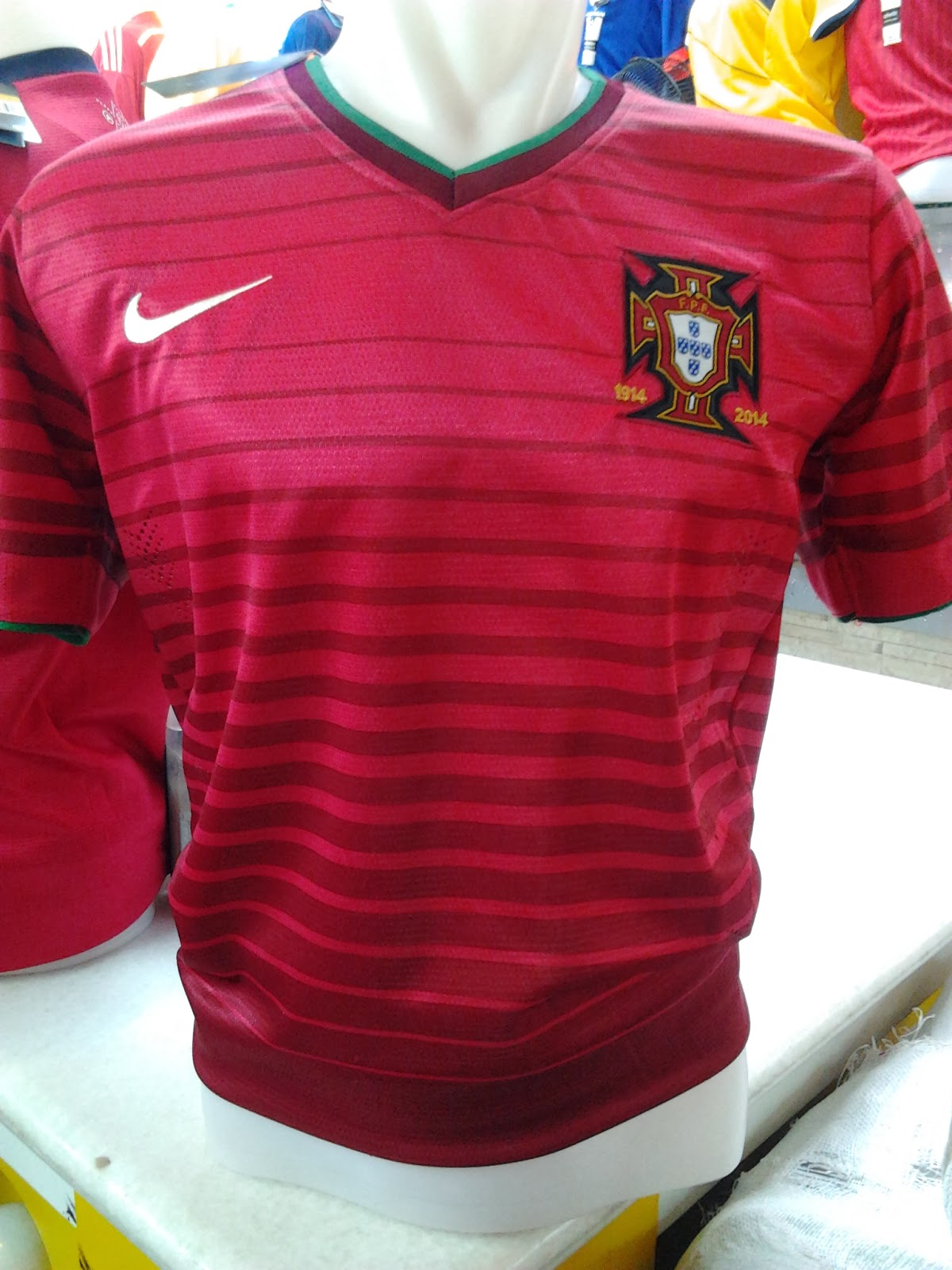 Jual Jersey Portugal World Cup 14 Murah