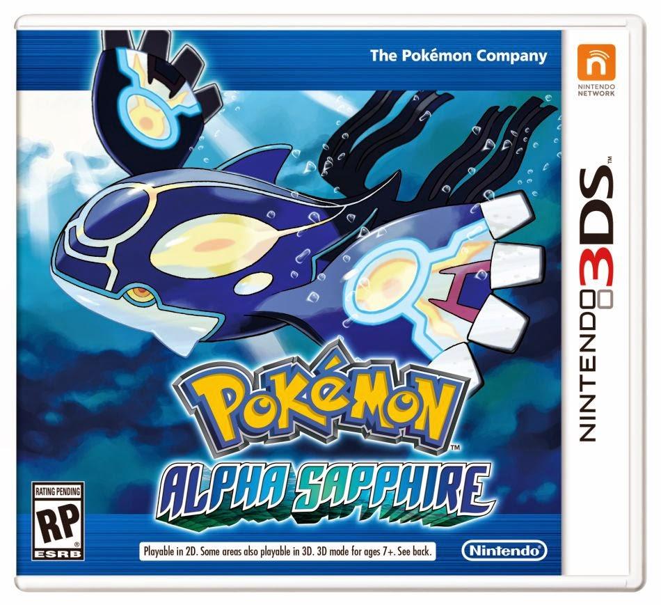 Pokémon Zafiro Alfa (Español) (Nintendo 3DS)