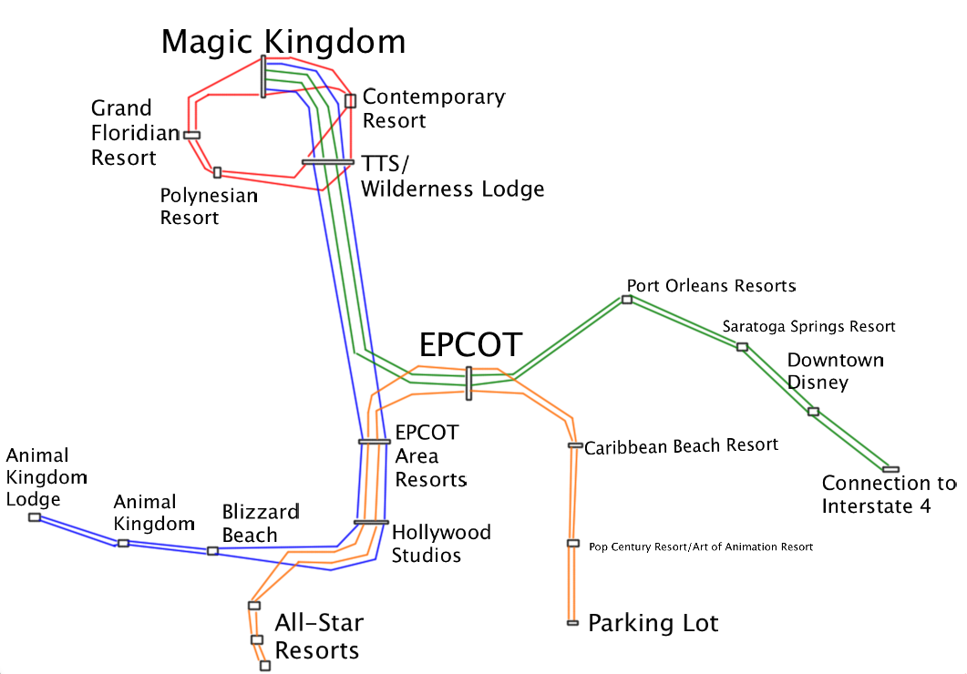 Disney Monorail Stops Related Keywords & Suggestions ...