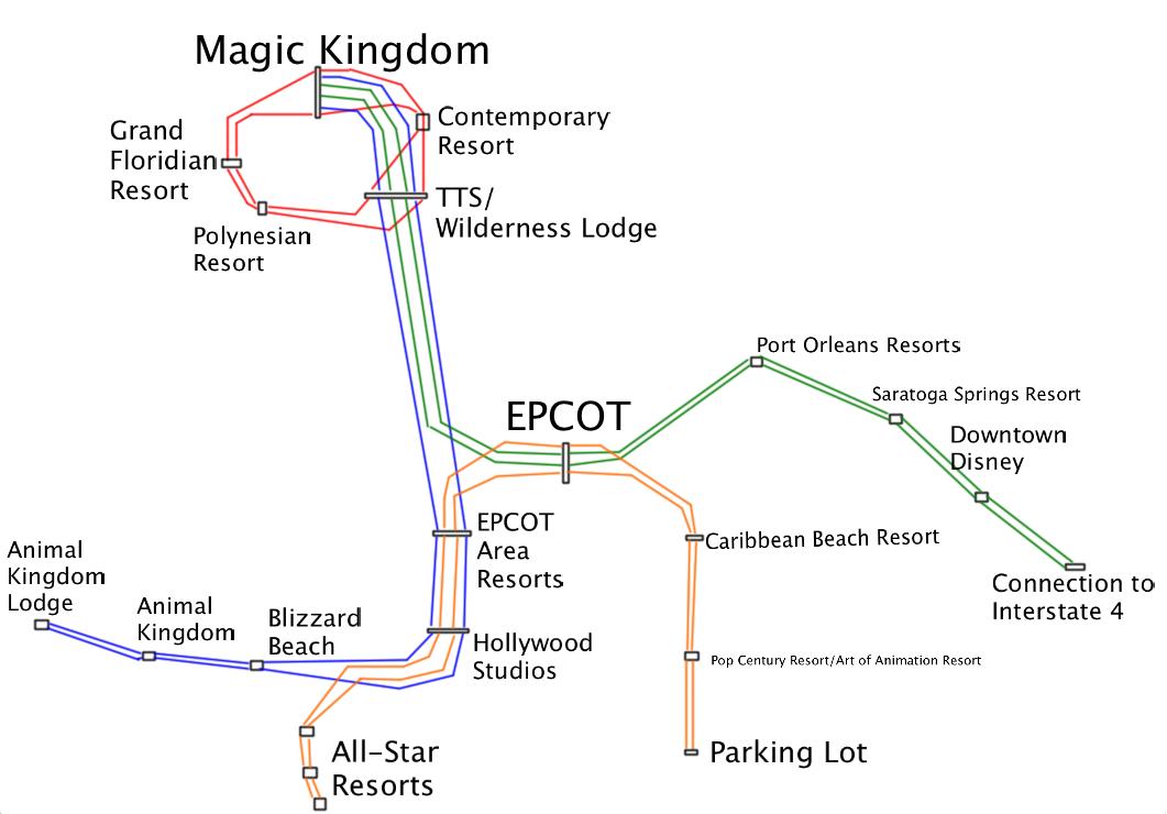 Mass Transit Magic NYC WDW: New Disney Monorail Design