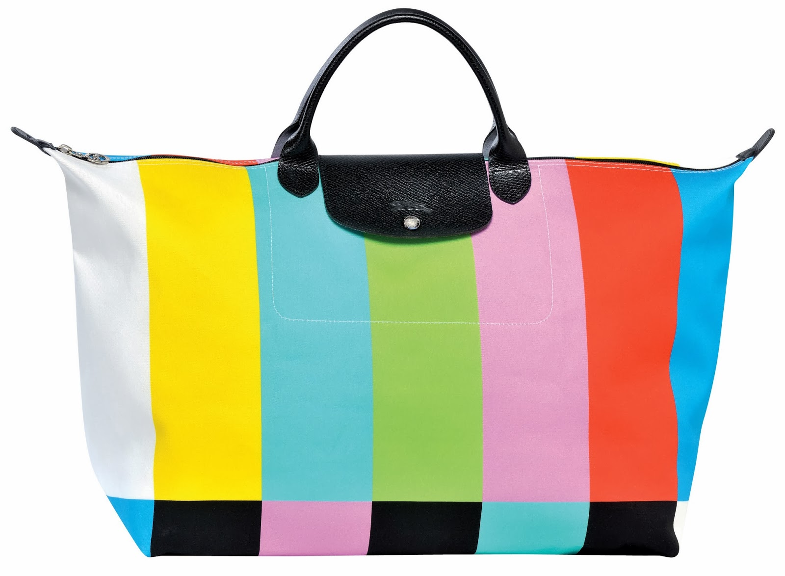 Colour bar pliage bag longchamp