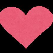 バレンタインのイラスト「ハート」