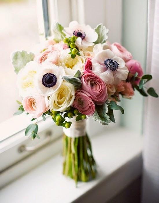 Anemone Flower Bouquet - Fresh Flowers