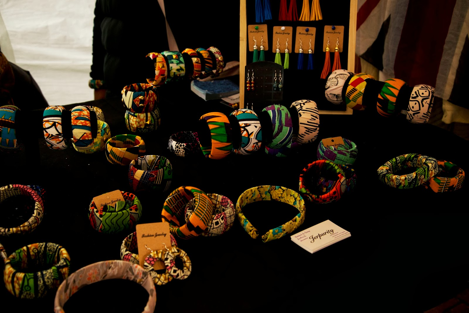 African stall - Portobello Rocks at Portobello Green Market,  I Love Markets