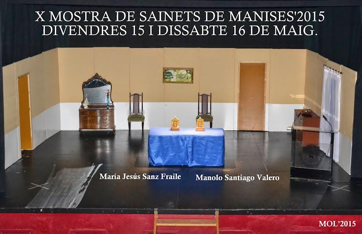 X MOSTRA DE SAINETS 2015