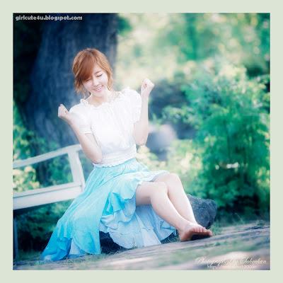 1 Choi Byeol Yee-Legs Show Off-very cute asian girl-girlcute4u.blogspot.com
