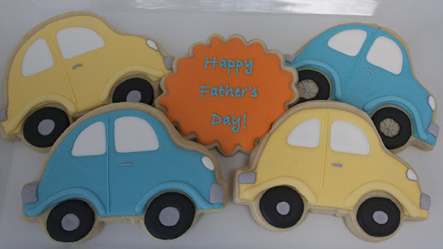 Volkswagon beetle cookies, father's day