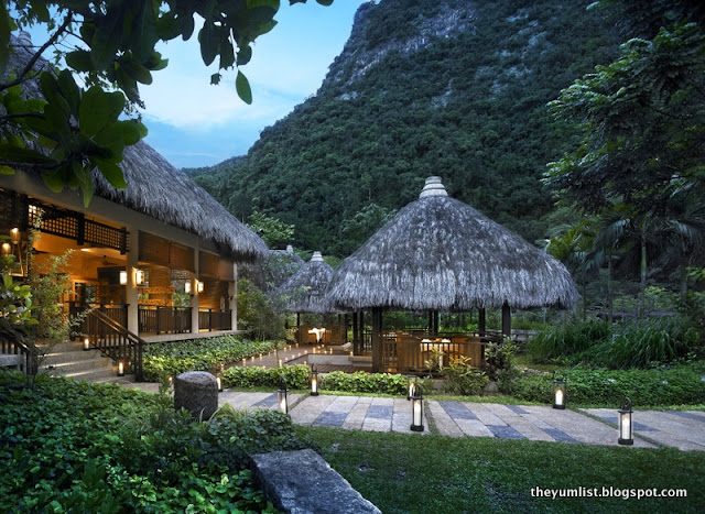 The Pomelo, The Banjaran hot springs retreat, healthy restaurant, ipoh