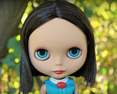 Retro OOAK Blythe Custom
