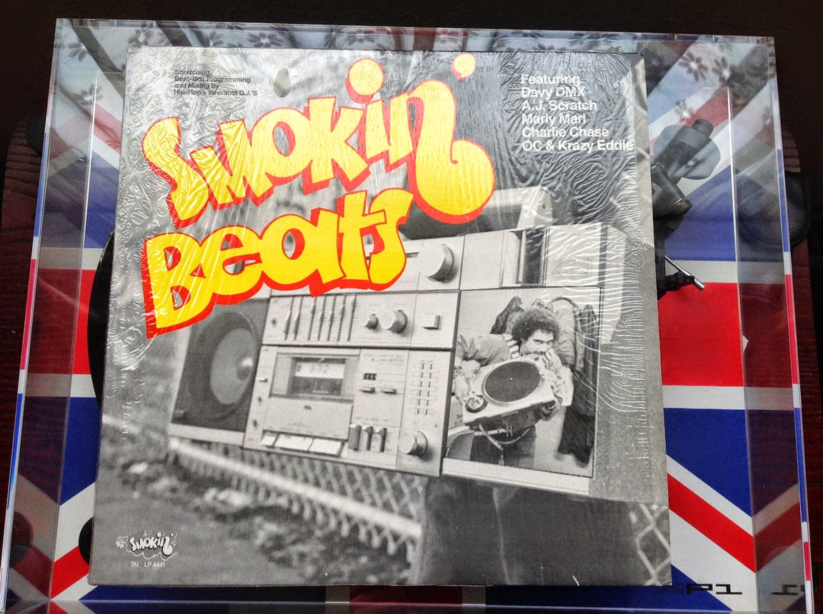 Smokin' Beats Compilation Album Front