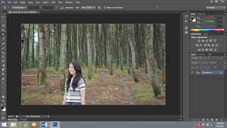 Tutorial Tilt Shift Blur Effect Photoshop CS6