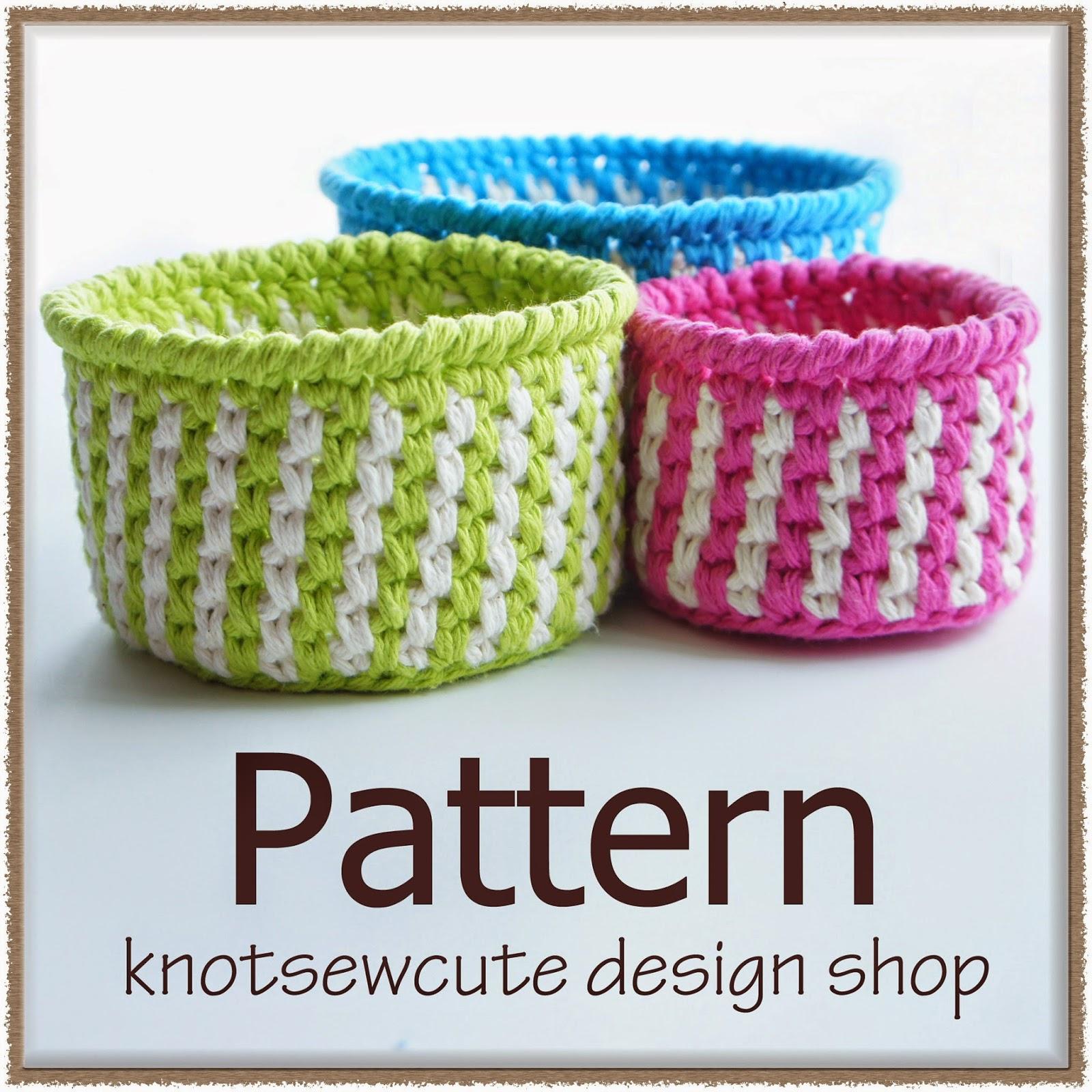 Striped Baskets by Tara Schreyer