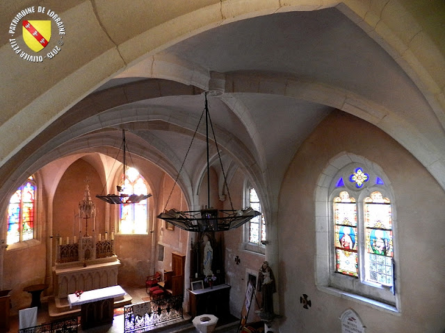 VOINEMONT (54) - Eglise Saint-Etienne (Intérieur)