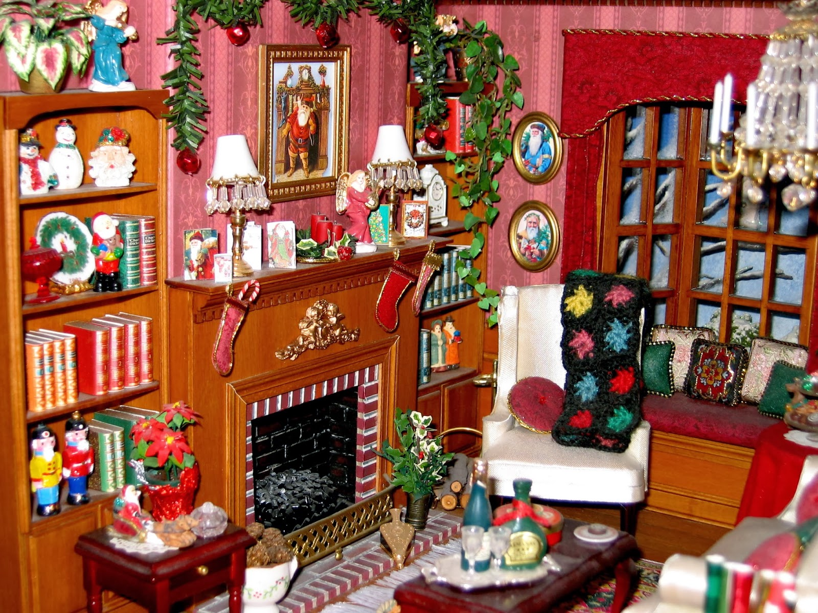 dollhouse living room
