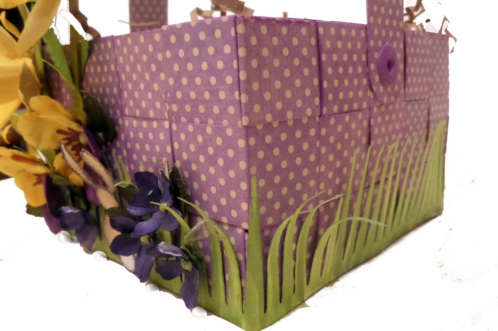 Secret Garden Easter Basket 1 by Clare Charvill Graphic 45