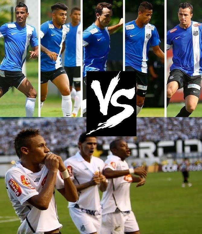 Santos 2010 x Santos 2014