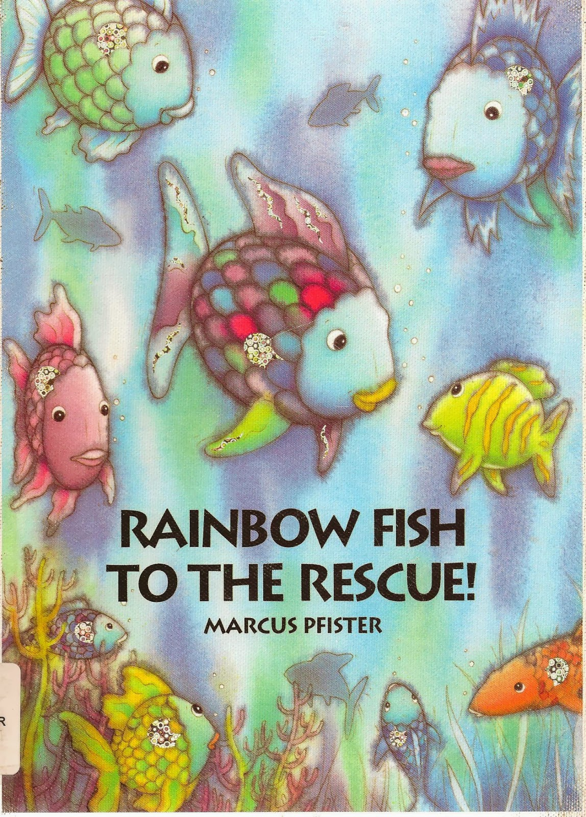 Worshiping with children year a third sunday in lent for Rainbow fish to the rescue