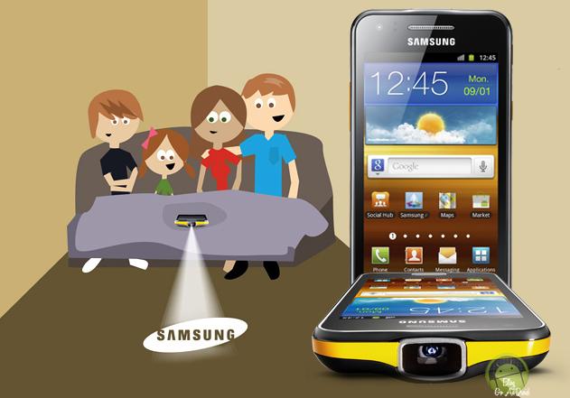 Por dentro do primeiro smartphone com projetor integrado lançado pela Samsung no Brasil