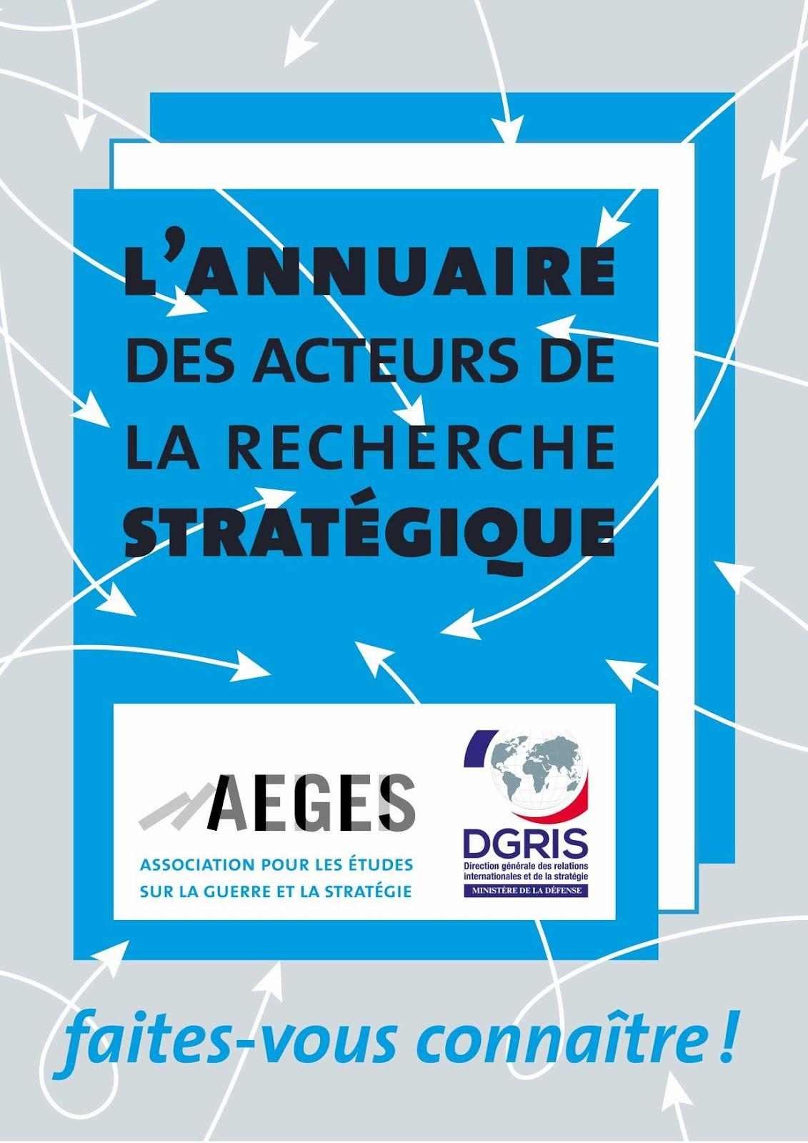 Annuaire Recherche Stratégique