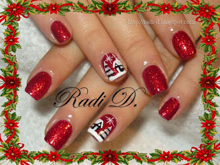 China Glaze- Ring in the red