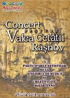 Primul recital de pian in Pestera Valea Cetatii