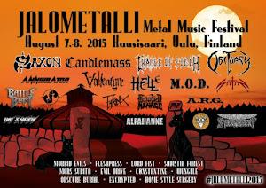 JALOMETALLI METAL MUSIC FESTIVAL 2015