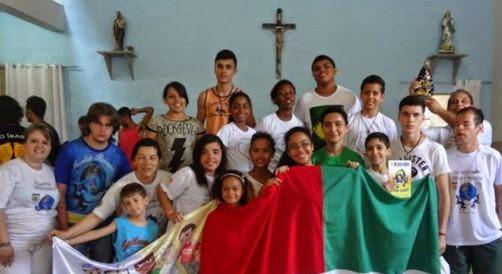 No Dia Mundial das Missões, JM da Diocese de Guarulhos retorna ao Rio de Janeiro onde foram acolhidos durante a JMJ