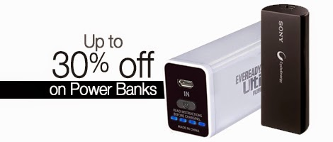 Save 30% on Power Banks