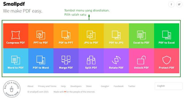 Cara Merubah File Word, Excel, PowerPoint PPT, JPG Ke PDF Online Tanpa Software