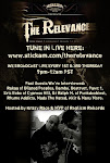 Online Radio Show Hosted by Krazy Race &amp; MVP www.stickam.com/therelevance