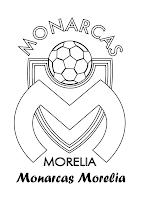 Monarcas Morelia para colorear