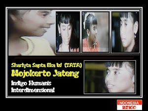 "ANAK INDIGO 20 (VERSI SHARLYTA SAPTA EKA W ""TATA"" - MOJOKERTO - JATENG)"