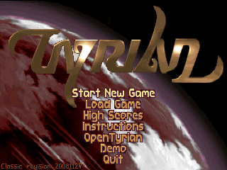 Tyrian v0.1.1 s60v3 Game Signed