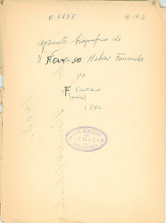 """""""Apuntes biográficos de D. Narciso Hebrard y Fernández..."""""""