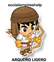 imagen del arquero ligero de social empires