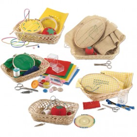Links to the Montessori Kit with Five Sequential Sewing Activities