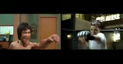 Gina Carano - Bruce Lee