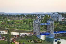 Parque Europa, posee más de 200.000 metros cuadrados de extensión.