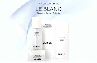 Free Le Blanc Brightening Skincare Collection Sample