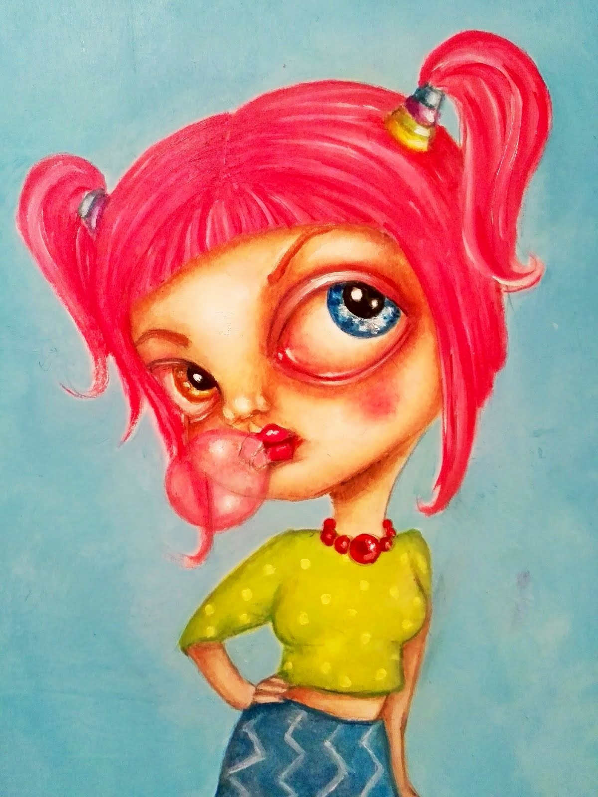 """Miss Bubblepop"", 2015"