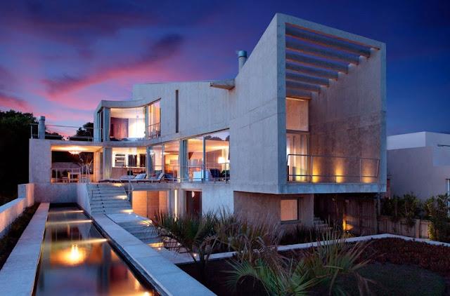 casa de diseño abierto
