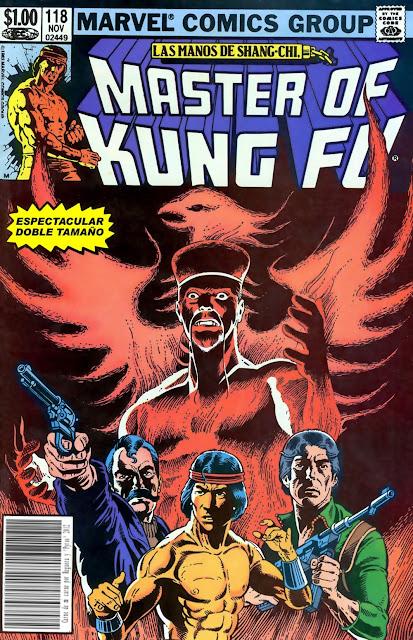 Portada Master of Kung Fu Nº 118 traducido