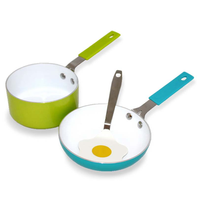 OX-81 Panci Oxone 3Pcs Mini Cookware Set