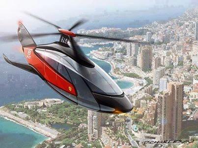 Ferrari Helicopter