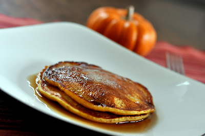 Pumpkin Pie Pancakes - Photo by Taste As You Go