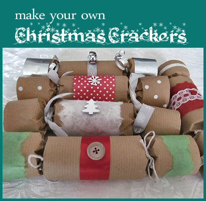 Christmas cracker tutorial