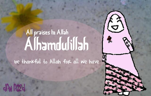 Alhamdullilah,Terima Kasih Ya Allah
